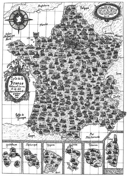 Carte France Pablo Raison