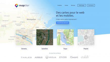 MapTiler France
