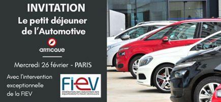 Petit déjeuner de l'Automotive organisé par Articque @ Paris (ciège de BPI France)